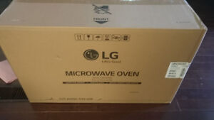 Brand New in Box LG 2.0 cu.ft. Over the Range Microwave