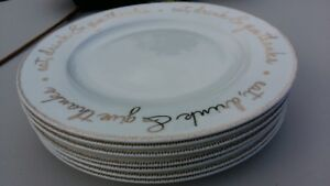 Dinnerware Plates - Good China for Thanksgiving!
