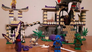 "Retired Lego ""Enter the Serpent"""