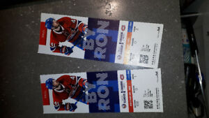Billets hockey canadiens
