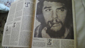 Che, in a CUBAN MAGAZINE, DATED 1967 , ALL IN SPANISH