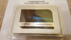 Crucial 250GB SSD MX500.2.5 inch SOLID STATE DRIVE