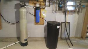 Système d'adoucisseur d'eau ( Usagé )