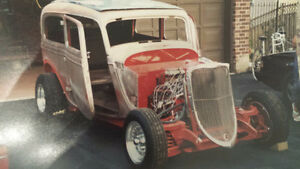 1933 1934 Ford Frame wanted or parts any condition