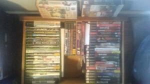 Xbox & PS2 fames for sale
