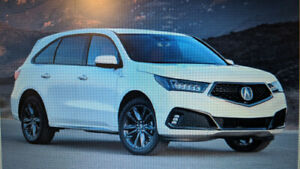 2019 Acura MDX TECH SUV Lease Takeover