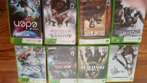 Xbox 360 games 4$ each or all for 50$