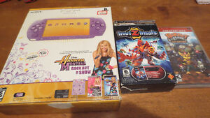 Sony PSP Console Hannah Montana Edition In Box plus Extras Rare
