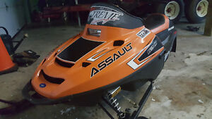 Kids 120cc Snowmobile As New