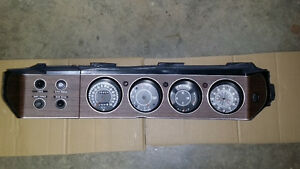 Rallye gauges with switch panel and bezel