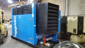Air Compressor Ingersoll-Rand 200HP Skid Style