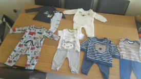 18 Months New Ex John Lewis Baby Boy Toddler T-Shirt Short Sleeve Size Newborn Baby