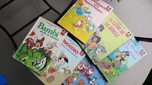 Lot de livres Disney Rare! Collection vintage