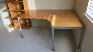 $50 IKEA Effektiv student/office corner desk -right