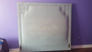 Large Tall  Queen Size Tufted Bedframe