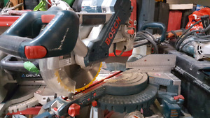 "10"" Bosch Sliding Miter Saw"