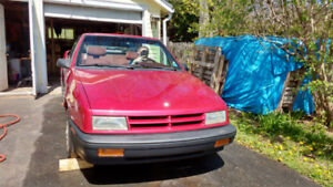 Classic 91 Dodge Shadow convertible