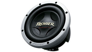 new Pioneer Champion Series 12 inch subwoofer