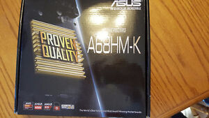 amd athlon 860k with asus A68HM-K