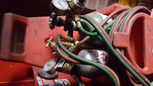 Acetylene And Oxygen Small Tanks