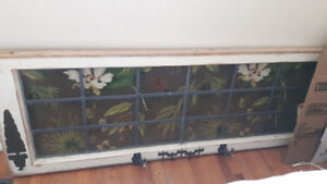 Antique window frame ,