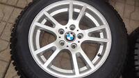 Mags BMW X5 -X3 18'' avec pneus Hiver 225 65R17 général neufs
