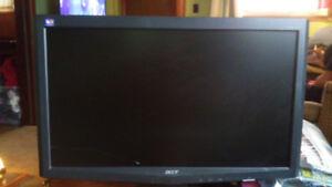 Acer computer flat screen