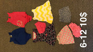 Spring and summer baby girl clothes
