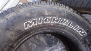 Mud and Snow Michellin Tires