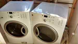 GE front loader washer and dryer pair $300 firm.