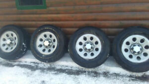 winter tires and rims 265/70/17