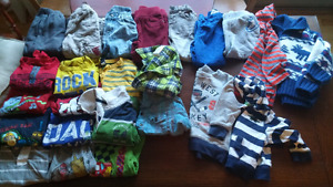 Boys 2T fall / winter clothing lot