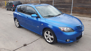 2004 MAZDA 3 GT E-TESTED LOW.KM