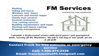 Tree cutting services and property maintenance