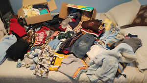 3-6 mth boys clothing lot
