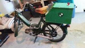 puch antique 68 moped