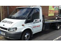 24/7 car van motorcycle recovery delivery breakdown cheap and reliable