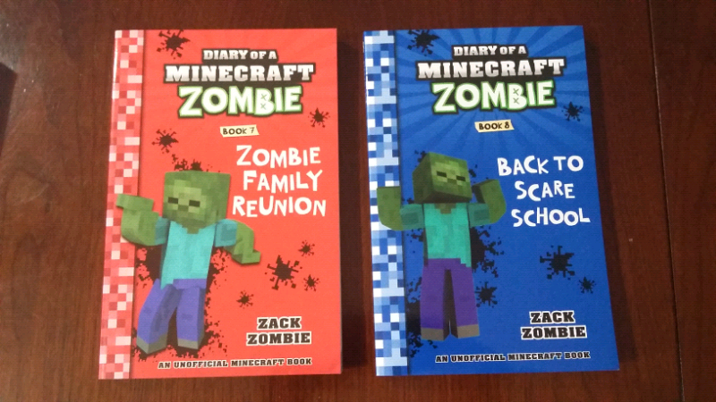 diary of a minecraft zombie book 7 zombie family reunion