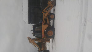 580 B Case Backhoe
