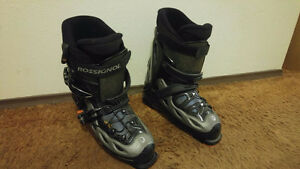 Size 11 (29,5) skiing boots Prince George British Columbia image 1