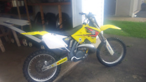 For sale 2002 rm 250 asking$3200 o.b.o.