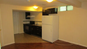 OBO ! Quiet, Clean and  Basement suite for rent