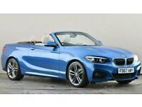 2017 BMW 2 Series 218i M Sport 2dr [Nav] Sports petrol Manual