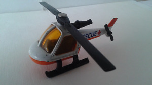 VINTAGE 1982 MATCHBOX MB 75 RESCUE HELICOPTER