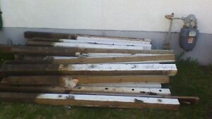 fence posts and stair builder
