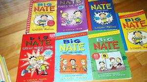Big Nate and James Patterson Middle School books