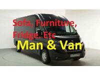 Man & Van Leader Service Removals Aberdeen Scotland Fair and honest pricing, Sofa, Furniture, Fridge