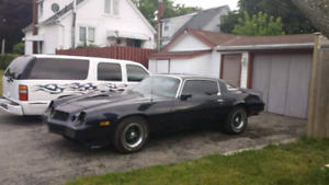 1979 camero 350(355) 700r  built 18k invested recently.
