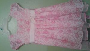 Pretty Easter/spring dress size 4-5