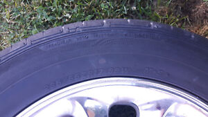Chrome rims and tires for sale